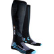 X-Bionic Effektor Competition Long - Calcetines Running - negro